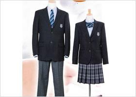 向陽台高等学校制服画像